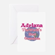 Adriana - Best Grandma in the Greeting Card