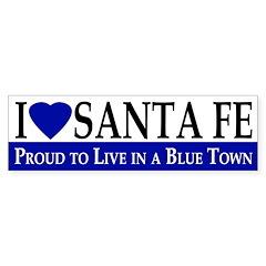 I Love Santa Fe (bumper sticker)