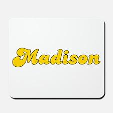Retro Madison (Gold) Mousepad