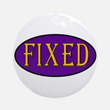Fixed Ornament (Round)