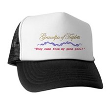Grandpa of Triplets Trucker Hat