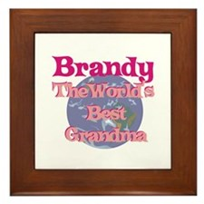 Brandy - Best Grandma in the Framed Tile