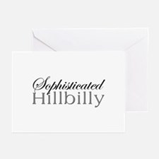 Sophisticated Hillbilly Greeting Cards (Package of