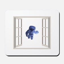 Astronaut behind the window. Large Mousepad
