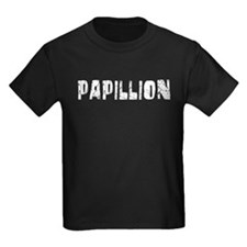 Papillion Faded (Silver) T