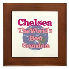 Chelsea - Best Grandma in the Framed Tile