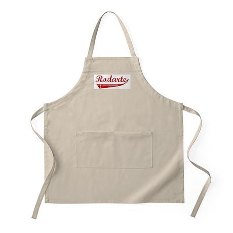 Rodarte (red vintage) BBQ Apron
