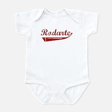 Rodarte (red vintage) Infant Bodysuit