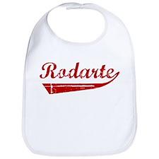 Rodarte (red vintage) Bib