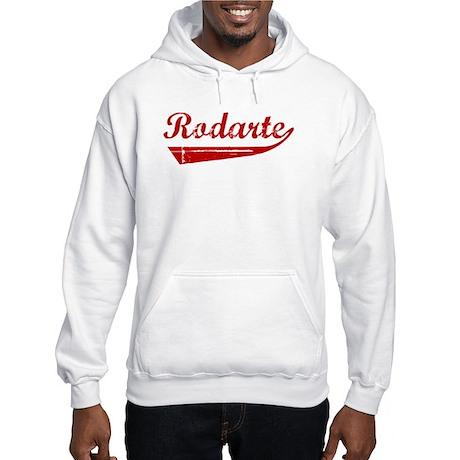 Rodarte (red vintage) Hooded Sweatshirt
