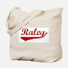 Raley (red vintage) Tote Bag