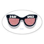 X-Ray Specs Oval Sticker