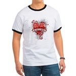 Heart Cycling Ringer T