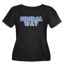 Retro Federal Way (Blue) T
