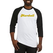 Retro Marshall (Gold) Baseball Jersey