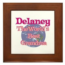 Delaney - Best Grandma in the Framed Tile