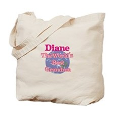 Diane - Best Grandma in the W Tote Bag