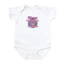 Diane - Best Grandma in the W Infant Bodysuit