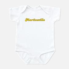 Retro Martinsville (Gold) Infant Bodysuit