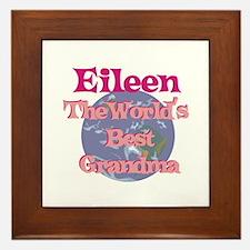 Eileen - Best Grandma in the Framed Tile