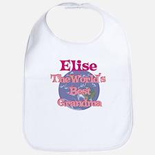 Elise - Best Grandma in the W Bib