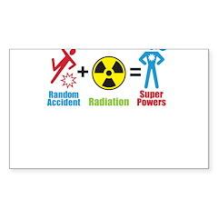 Super Powers Rectangle Sticker