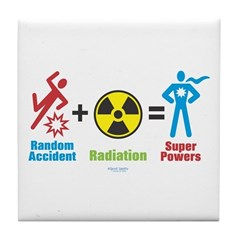 Super Powers Tile Coaster