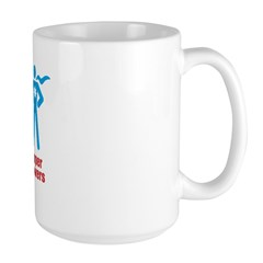 Super Powers Large Mug