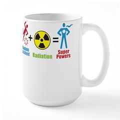 Super Powers Large Mug