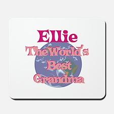 Ellie - Best Grandma in the W Mousepad