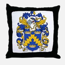 Curtis Family Crest Throw Pillow