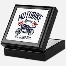 Motobike Keepsake Box