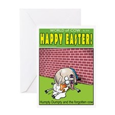 Humpty Deathtrap Greeting Card