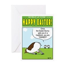 Easter OWNAGE! Greeting Card