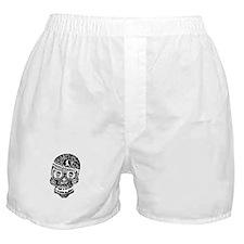 Mardi Gras Skull Boxer Shorts