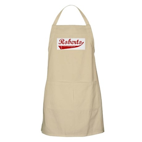 Roberto (red vintage) BBQ Apron