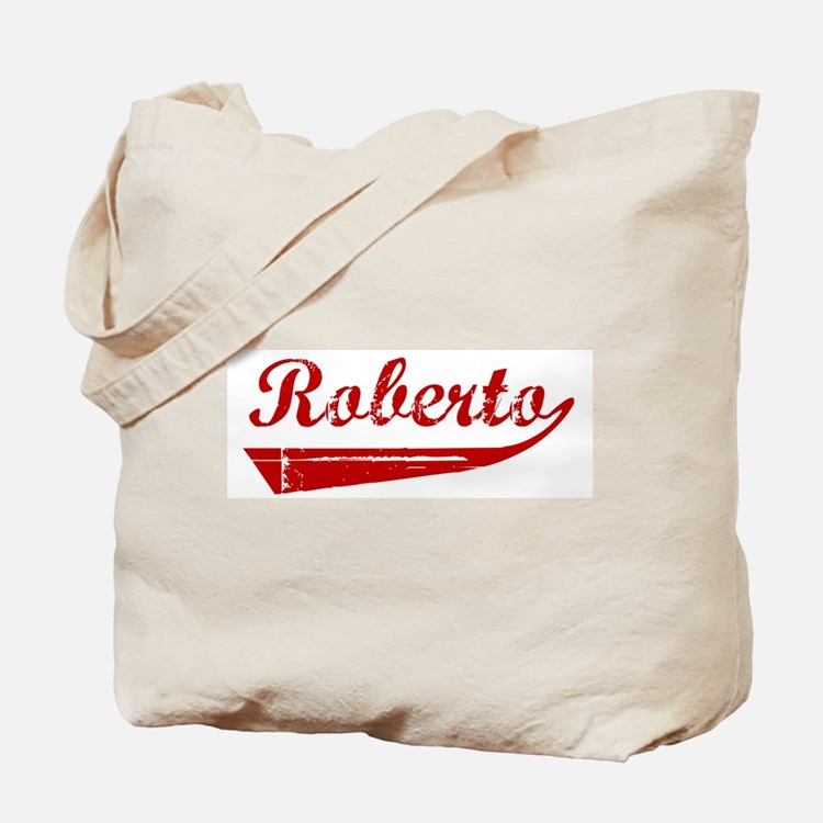 Roberto (red vintage) Tote Bag