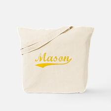 Vintage Mason (Orange) Tote Bag