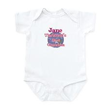Jane - Best Grandma in the Wo Infant Bodysuit