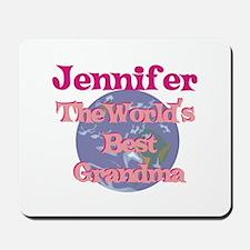 Jennifer - Best Grandma in th Mousepad