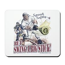 Big Stick Retro Baseball Mousepad