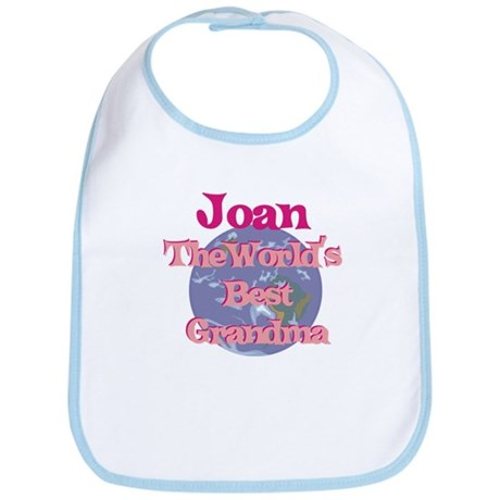 Joan - Best Grandma in the Wo Bib