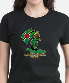 Someone in Dominica loves me! Tee