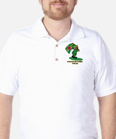 Someone in Dominica loves me! Golf Shirt