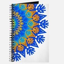 Decorative Pattern 1 DarkBlue Journal