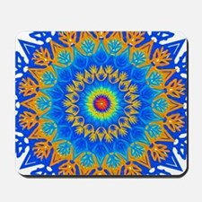 Decorative Pattern 1 DarkBlue Mousepad