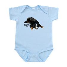 Bernese Rug Pose - Infant Creeper