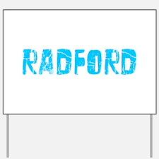 Radford Faded (Blue) Yard Sign
