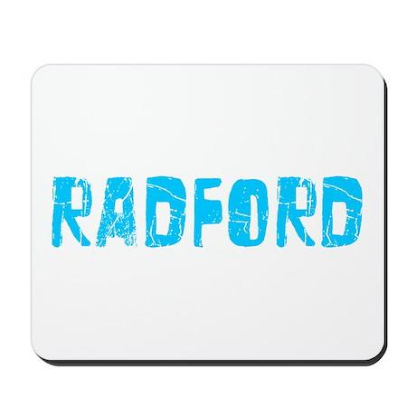 Radford Faded (Blue) Mousepad