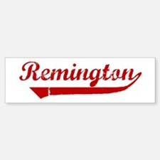 Remington (red vintage) Bumper Bumper Bumper Sticker